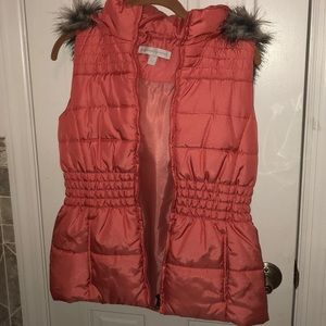 New York & company vest puffer coal s